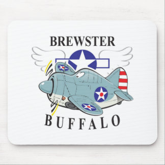 brewster buffalo mouse mat