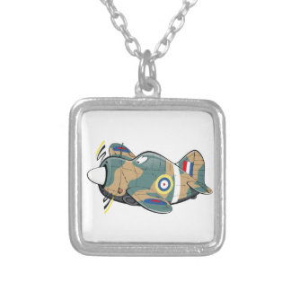 brewster buffalo silver plated necklace