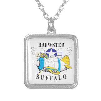 brewster buffalo square pendant necklace