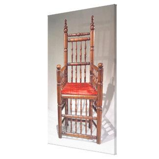 Brewster Chair Canvas Print