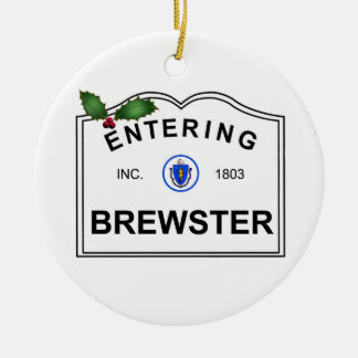 Brewster MA Christmas Ornament