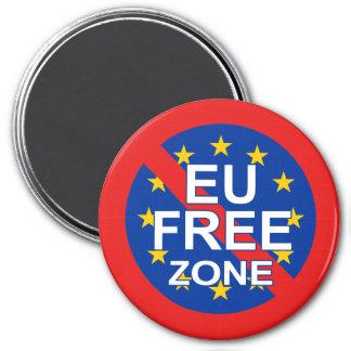 Brexit 7.5 Cm Round Magnet