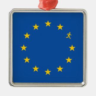 Brexit EU flag Christmas Ornament