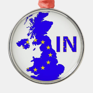 """BREXIT """"IN"""" UNION JACK CHRISTMAS ORNAMENT"""