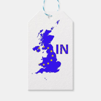 "BREXIT ""IN"" UNION JACK GIFT TAGS"