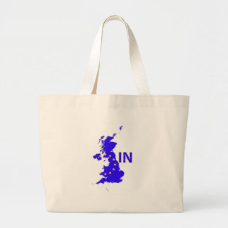 "BREXIT ""IN"" UNION JACK LARGE TOTE BAG"