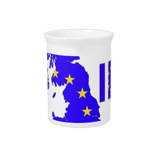 """BREXIT """"IN"""" UNION JACK PITCHER"""