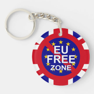 Brexit / Independence Day Key Ring