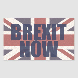 Brexit Now Stickers