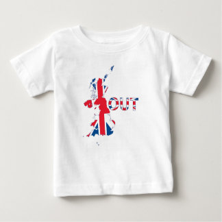 BREXIT OUT UNION JACK BABY T-Shirt