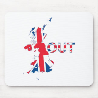 BREXIT OUT UNION JACK MOUSE MAT