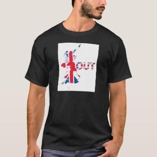 BREXIT OUT UNION JACK T-Shirt