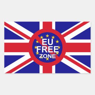 Brexit Rectangular Sticker