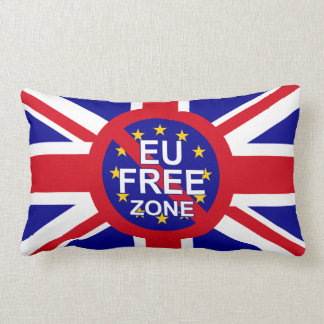 Brexit Supporters Lumbar Cushion
