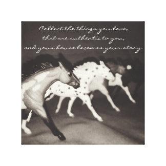 Breyer Model Horse Collector Wall Art Canvas Canvas Prints