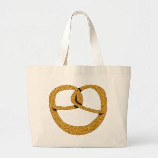 Breze pretzel canvas bags