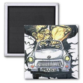 Brezhnev & Honecker, Trabant Car , Berlin (pst) Magnet