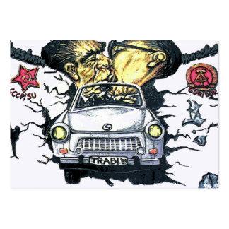 Brezhnev & Honecker, Trabant Car , Berlin (pst) Pack Of Chubby Business Cards