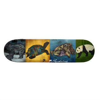 BRGproduction Animals Custom Skateboard
