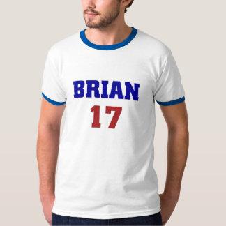 Brian 17 tee shirts