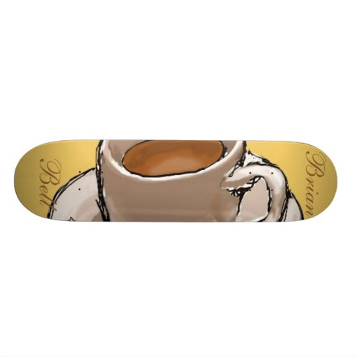 """Brian Bell """"Lifes Needs"""" Skate Board Deck"""