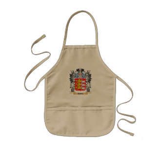 Brian Coat of Arms - Family Crest Kids Apron