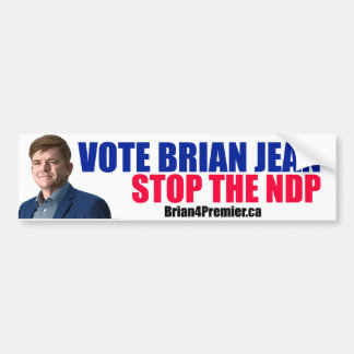 Brian for Premier Bumper Sticker