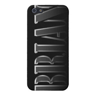 BRIAN Name Branded iPhone Cover iPhone 5 Case