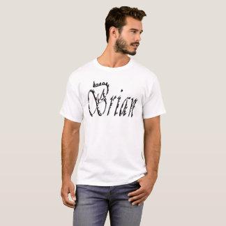 Brian, Name, Logo, T-Shirt