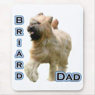 Briard Dad 4 Mouse Pad