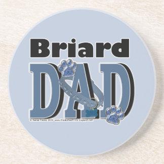 Briard DAD Coasters