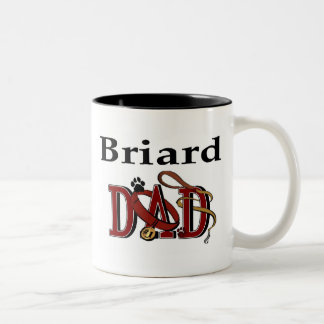 Briard Dad Mug