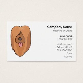 Briard Dog. Business Card