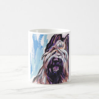 Briard Dog fun bright pop art Coffee Mug