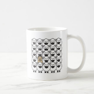 Briard in the Sheep Coffee Mug