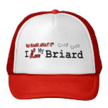 Briard Lovers Gifts Trucker Hats
