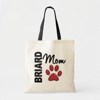 Briard Mom 2 Tote Bag