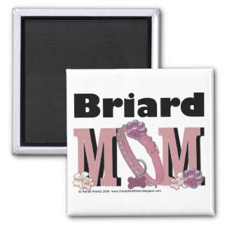 Briard MOM Magnet