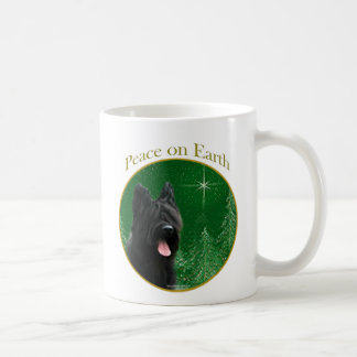 Briard Peace Coffee Mug