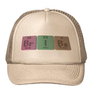 Bribe-Br-I-Be-Bromine-Iodine-Beryllium.png Trucker Hats