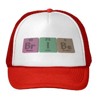 Bribe-Br-I-Be-Bromine-Iodine-Beryllium png Trucker Hat