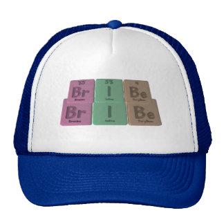 Bribe-Br-I-Be-Bromine-Iodine-Beryllium png Mesh Hat