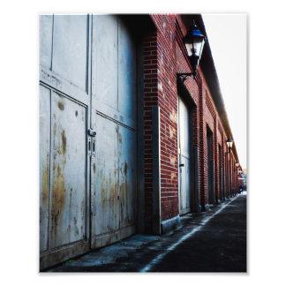Brick and Doors 8x10 Photo Print