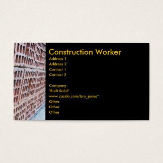 Brick and Mortar Business Card