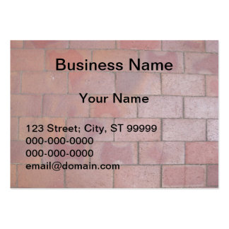 Brick Business Card Template