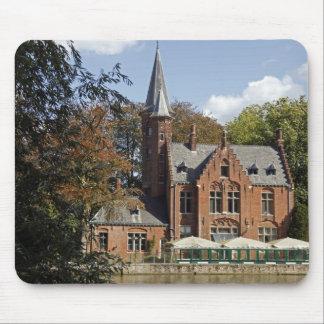Brick church on Minnewater Mouse Mat