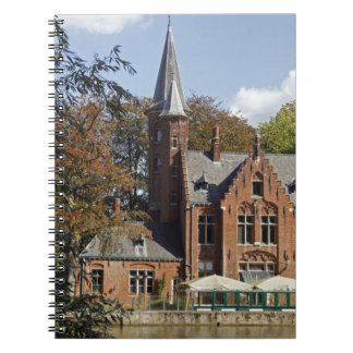 Brick church on Minnewater Notebook
