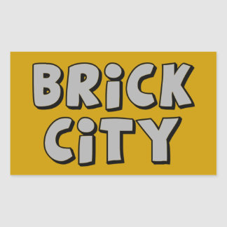 Brick City by Customise My Minifig Stickers