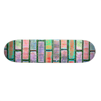 brick colored skateboards