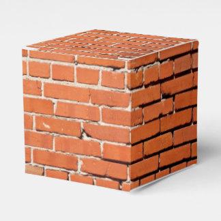 Brick construction favor box favour boxes